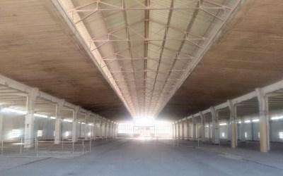 Diario de la beca de residencia Pico del Pañuelo sobre el Mercado de Legazpi