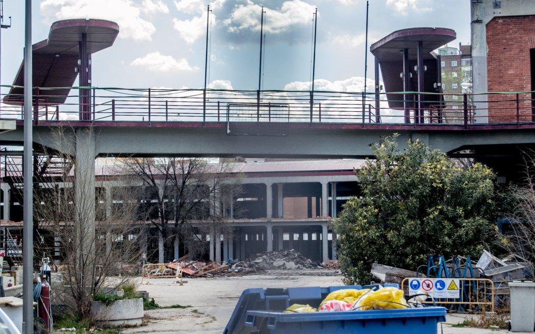 Se inicia la destrucción del Mercado de Legazpi