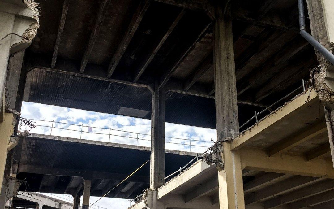 Más incumplimientos: destrucción también de la estructura original del Mercado