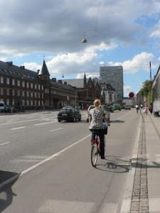 Quase 40% dos moradores de Copenhague usam bicicleta como principal meio de transporte. [Foto: Arquivo pessoal]