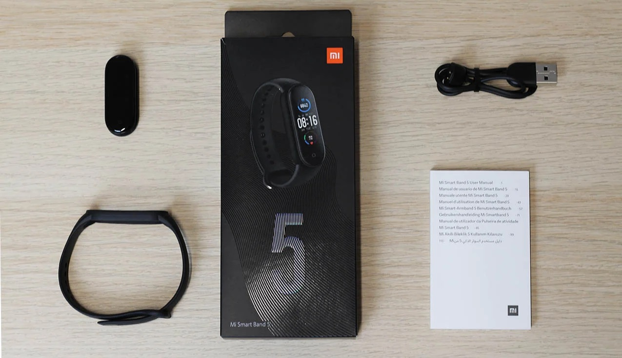 Xiaomi Mi Smart Band 5 Versión Global Original