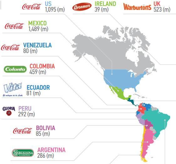 El Top Brand por país
