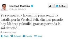 Hackean cuenta de Maduro - 188
