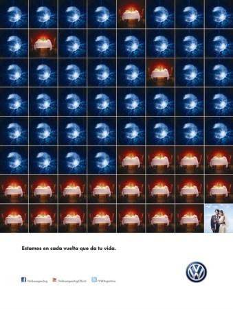 Pareja - campaña VW Argentina 800