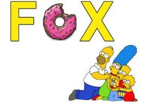 Fox y The Simpsons 285x200