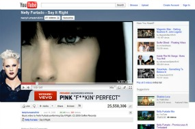YouTube -  Vevo 285x188