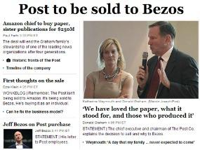 Amazon compra al Washington Post 188
