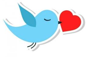 Twitter y San Valentín -