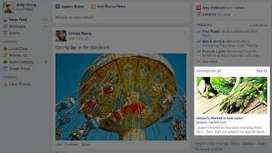 Facebook - nuevos anuncios -