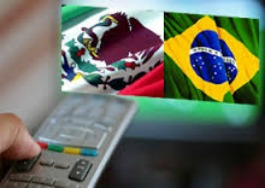 TV méxico y brasil -