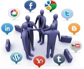 redes sociales - logos -