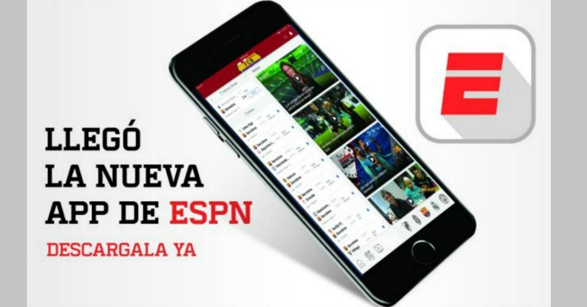 ESPN lanza su App móvil para América Latina