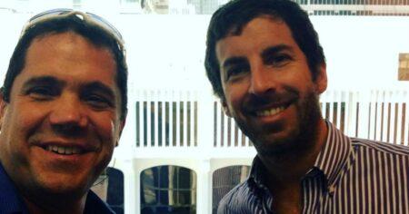 Vicente Jubes y Matias Avendano