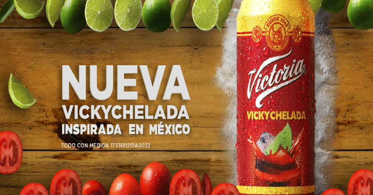Victoria lanza Vickychelada, la primera mezcla inspirada en México