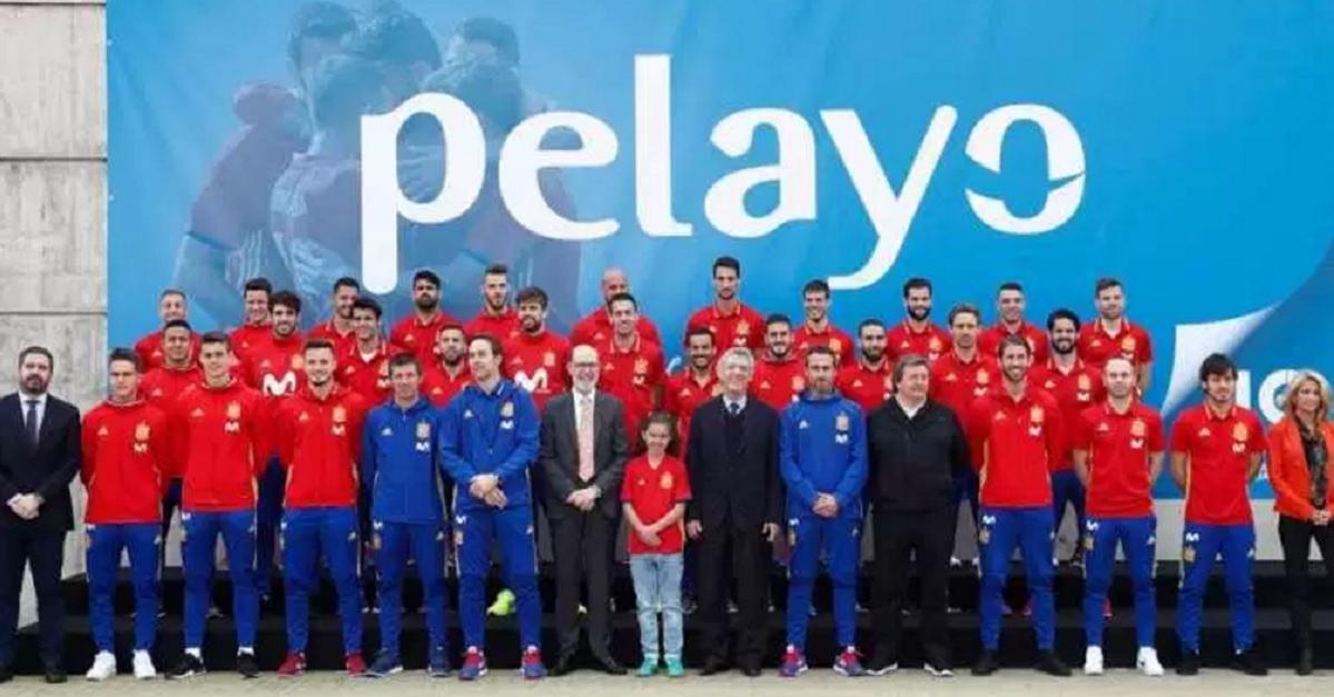 La Selección española renueva patrocinio con Pelayo