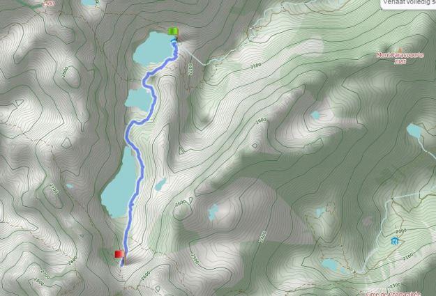 Route Refuge de Valmasque - Baissse de Valmasque