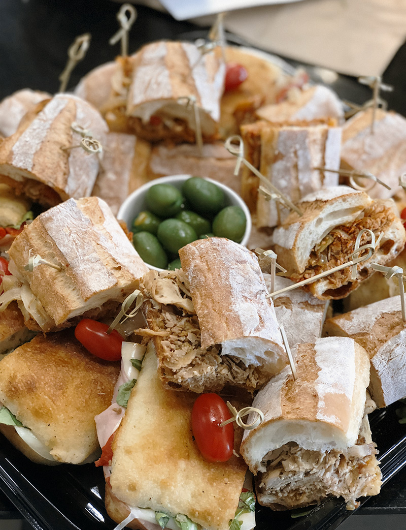 Weddings and Catering | pizza party, antipasto and panini