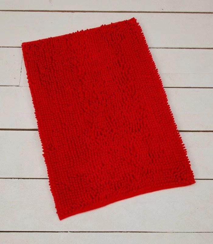 alfombra de microfibra super absorbente.rojo