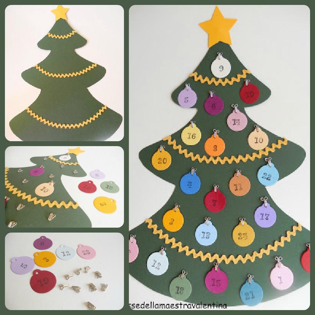 Calendario Avvento Fai Da Te Bambini.Natale 2012 10 Calendari Dell Avvento Fai Da Te Mercatino