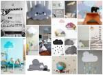 Nuvole in cameretta: 18 idee (fai da te e non) ☁ ☂