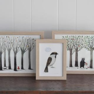 Le illustrazioni di Anna Walker
