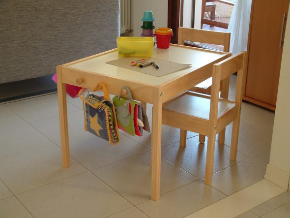 9 ikea hack di tavoli per bambini mercatino dei piccoli - Ikea sedie per bambini ...