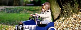 Automobili e cavalcabili vintage: Baghera