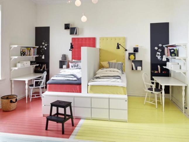 Pareti Cameretta A Pois : Pareti a pois tante idee per decorare le pareti di casa
