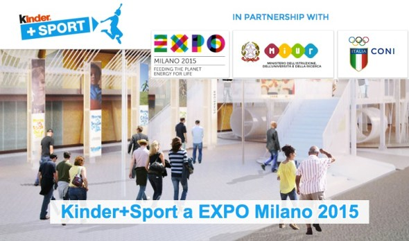 kinder+sport a expo milano 2015
