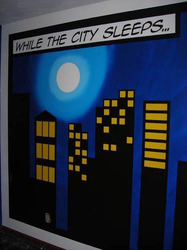 murales_faidate_parete comic book