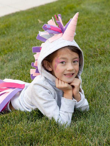 felpa unicorno