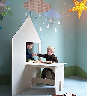 INKE playhouse e scrivania