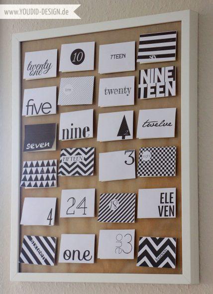 """DIY-calendario-avvento-""""Black-and-White""""-Freebie"""