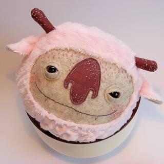Mumochor: piccoli mostri in feltro.