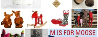 M is for Moose. O anche A sta per Alce