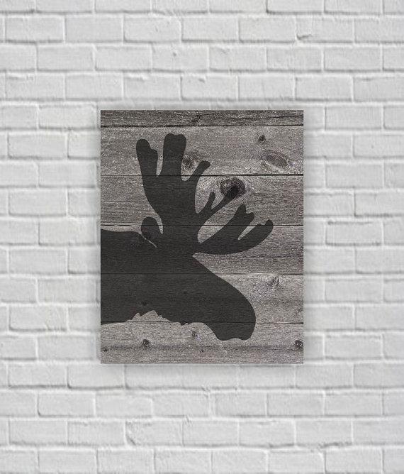 alce-silhouettes