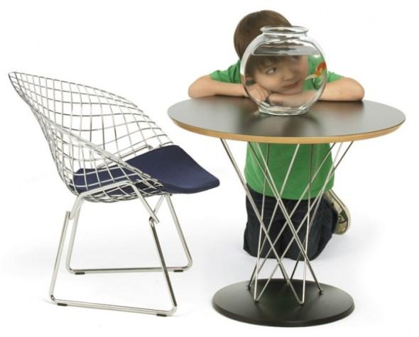 Herry Bertoia diamond chair junior