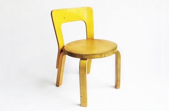 N65 Child Chair Alvar Aalto