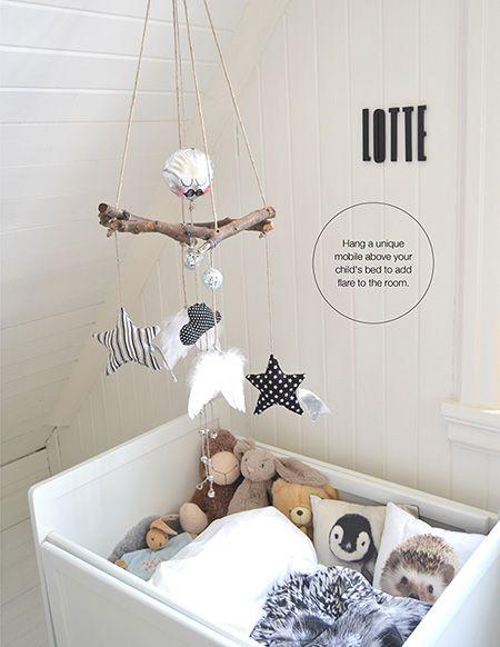 rami mobile nella nursery