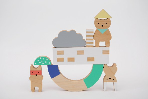 Des enfantillages balancing blocks