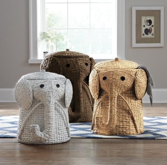 cesta giochi elefante
