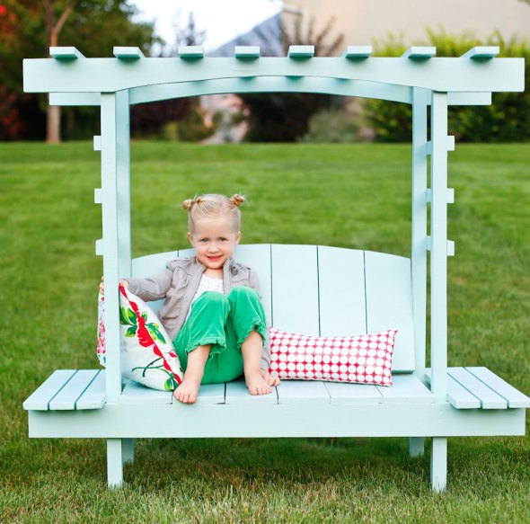 Outdoor Bench Ana White