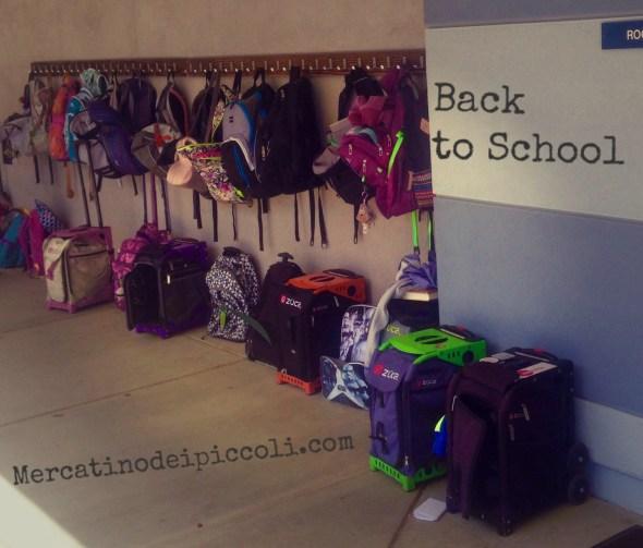 Back to school in california