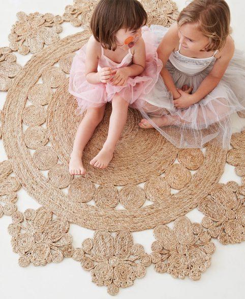 armadillo&co rug pinwheel