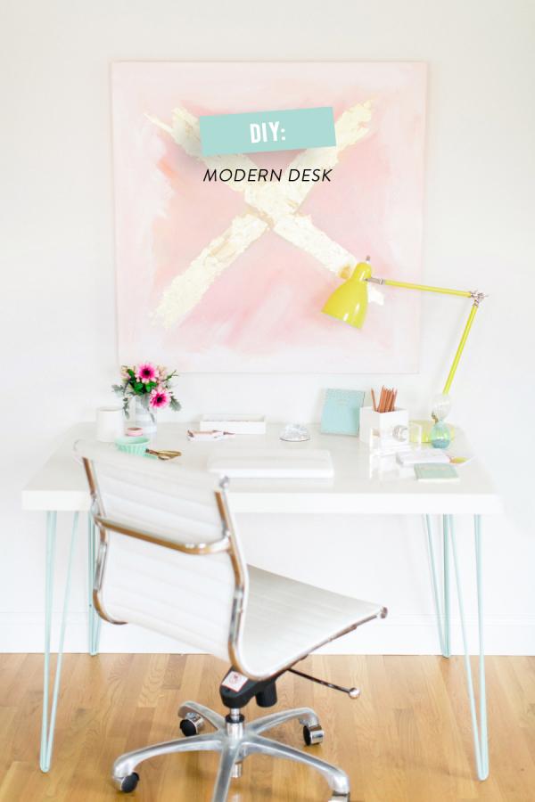 ikea hack desk