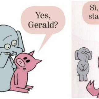 Libri divertenti  per bambini in inglese: Elephant and Piggie