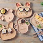 Adorabili piatti con gli animali