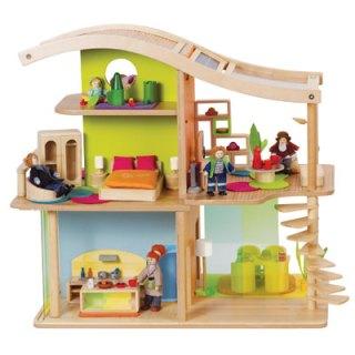 Casa per le Bambole Eco-Sostenibile