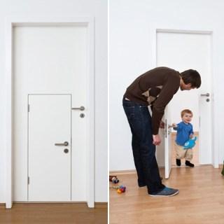 Anche i bambini hanno la loro porta