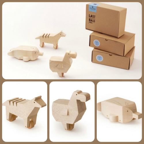 alburno, animali legno